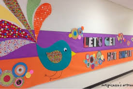 Paper School Wall Decoration With Colour Ideas For More Fun And Exciting Look Feel Home Design