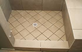 shower awesome how to replace a shower pan with tile converting