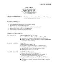 Jobs For High School Graduates Fresh Sample Resume Objectives Examples Of Career Example