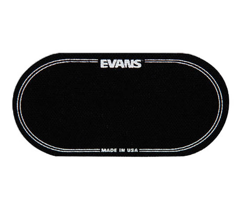Evans EQ Double Bass Drum Patch - Black
