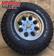 100 Truck Rims And Tires Packages 16X8 ION Type 171 Laced Up To A 27570R16 BFGoodrich KO2 Wheel
