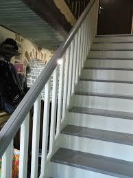 peindre un escalier sans poncer repeindre un escalier en bois sans poncer on decoration d