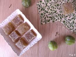 framboises bergamote pâtes de fruits aux reines claudes