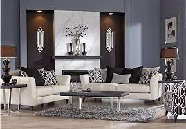 shop for a sofia vergara carinthia vanilla 5 pc living room at