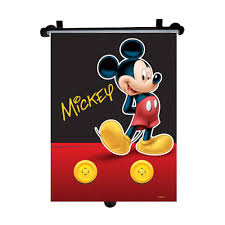 Mickey Mouse Ceiling Fan Globe by Car Sun Shade Roller Window Blind For Kids Disney Mickey Mouse