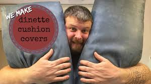 Rv Jackknife Sofa Cover by Recovering Rv Dinette Cushions By An Amateur Youtube