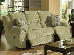 Catnapper Lift Chair Manual by Conrad Manual Reclining Sofa In Thistle Color Chenille Fabric By