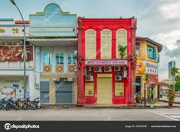 100 Houses In Malaysia Georgetown Penang Dec 2017 Facades Old Colonial