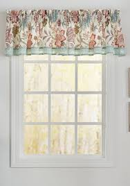 Waverly Curtains Christmas Tree Shop by Waverly Jacobean Flair Valance Belk