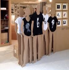 Simple Solid Cutout Silhouettes For Displaying Clothing