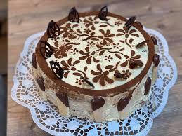 tiramisu torte für einen runden geburtstag heidi