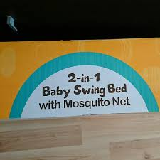 2 in 1 Baby Swing Bed With Mosquito Net Babies & Kids on Carousell