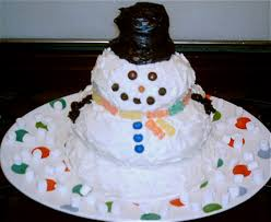 Frosty Snowman Christmas Tree by Fun With Frosting Friday Little Miss Redhead Page 4