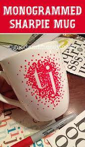 DIY Sharpie Mug Easy Cheap Gift Ideas For Christmas Birthdays Boyfriends