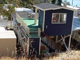 Cool roof over turned into deck mobilehomerepair