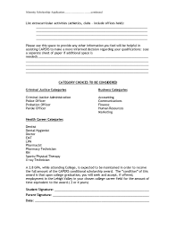 100 Extra Curricular Activities For Resume New Curricular List S Ive Ceptiv Of