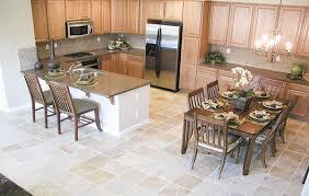 Kitchen Tile Flooring Kitchens Interior Fantastic With White Stone Floor Designs Granite