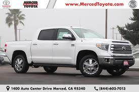 100 Merced Truck And Trailer New 2019 Toyota Tundra 1794 57L V8 For Sale In CA VIN