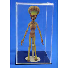 Tall Acrylic Display Case Martian