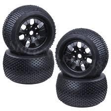 100 At Truck Tires 4pcs 140mm 28 Inch RC Wheel 18 Monster 17mm Hex Hub