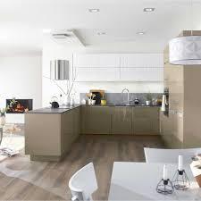 cuisine taupe et gris meuble cuisine taupe galerie avec charmant cuisine beige et taupe