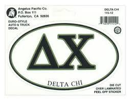 Delta Chi Clothing Rush Shirts & Gifts Greek Gear