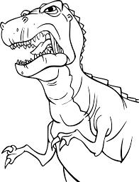 Coloriage Dinosaure Tyrex à Imprimer Sur COLORIAGES Info