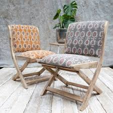 Padded Wooden Folding Chairs Are Very Comfortable — Rocky ...