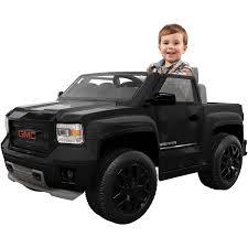 100 Power Wheel Truck Rollplay GMC Sierra Blackout Series 6Volt Batteryed