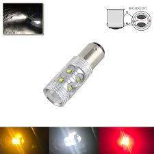 1x s25 1157 ba15d 50w high power led light bulbs 1004 1056 1142