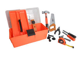 Home Depot - Deluxe Tool Box   Toys