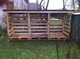 DIY Pallet Wood Shed MyOutdoorPlans