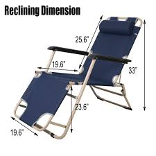 KARMAS PRODUCT Outdoor Reclining Lounge Chairs Adjustable Folding Patio  Recliners With Pillow For Pool,Lawn,Beach Dark Blue Phi Villa Outdoor Patio Metal Adjustable Relaxing Recliner Lounge Chair With Cushion Best Value Wicker Recliners The Choice Products Foldable Zero Gravity Rocking Wheadrest Pillow Black Wooden Recling Beach Pool Sun Lounger Buy Loungerwooden Chairwooden Product On Details About 2pc Folding Chairs Yard Khaki Goplus Wutility Tray Beige Headrest Freeport Park Southwold Chaise Yardeen 2 Pack Poolside
