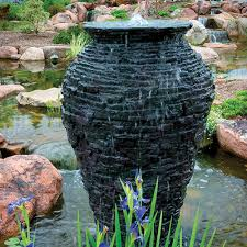 Aquascape Patio Pond Canada by Aquascape Large Stacked Slate Urn Fountain Mpn 98940 Best