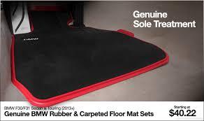 Bmw Floor Mats Canada by Ecs Tuning F30 F31 Genuine Bmw Floor Mat Sets Sole Treatment