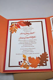 Awesome Diy Autumn Wedding Invitations And Printable Fall For The Bride Via 11