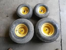 100 15 Truck Tires 2 Used FrontSteer 6506 2 Used RearDrive 2088