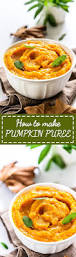Freezing Pumpkin Puree For Smoothies by How To Make Homemade Pumpkin Puree Homemade Pumpkin Puree