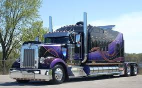 USA) Long Sleeper Cab Tractor | Semi-Trailers | Pinterest | Tractor ...