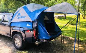 Off The Ground With The Napier Outdoors Sportz Truck Tent 57 Series ...