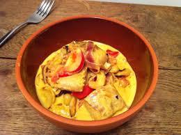 cuisiner les poivrons curry de poisson aux poivrons envie de cuisiner