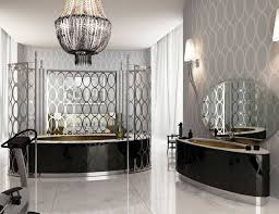 Chandelier Over Bathroom Vanity by High End Bathroom Vanities Decofurnish