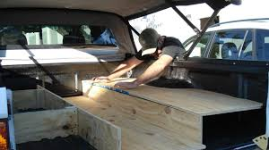 100 Truck Camping Ideas Beautiful Tacoma Storage Platform Sleeping Collection Also
