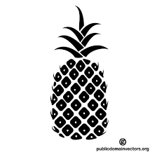 PINEAPPLE SILHOUETTE VECTOR Download at Vectorportal