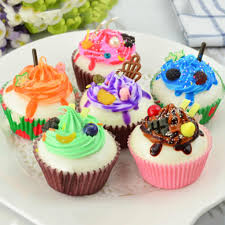 Realistic Artificial Fake Cake Cupcake Model Cup Display Photography Props Crafts Home Decoration Nov 6A