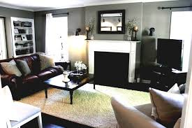 Black Leather Couch Living Room Ideas by Brown Living Room Colors That Go With