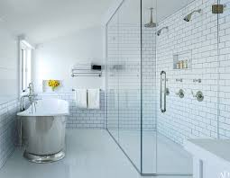 Color For Bathroom Tiles by How To Choose The Right Grout Color Architectural Digest