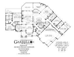 Craftsman Style Floor Plans by Stone Ridge House Plan House Plans By Garrell Associates Inc