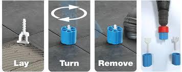 Vitrex Tile Leveling Spacers by Tile Leveling System Tile Lippage System Tiling Tools