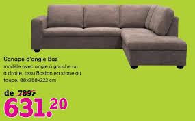 promotions canapé leen bakker promotion canapé d angle baz produit maison leen